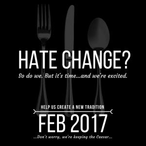 Hate Change?