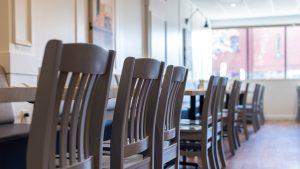 Restaurant interior at Main Street Local Kitchen