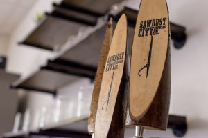 Beer on tap at Main Street Local Kitchen